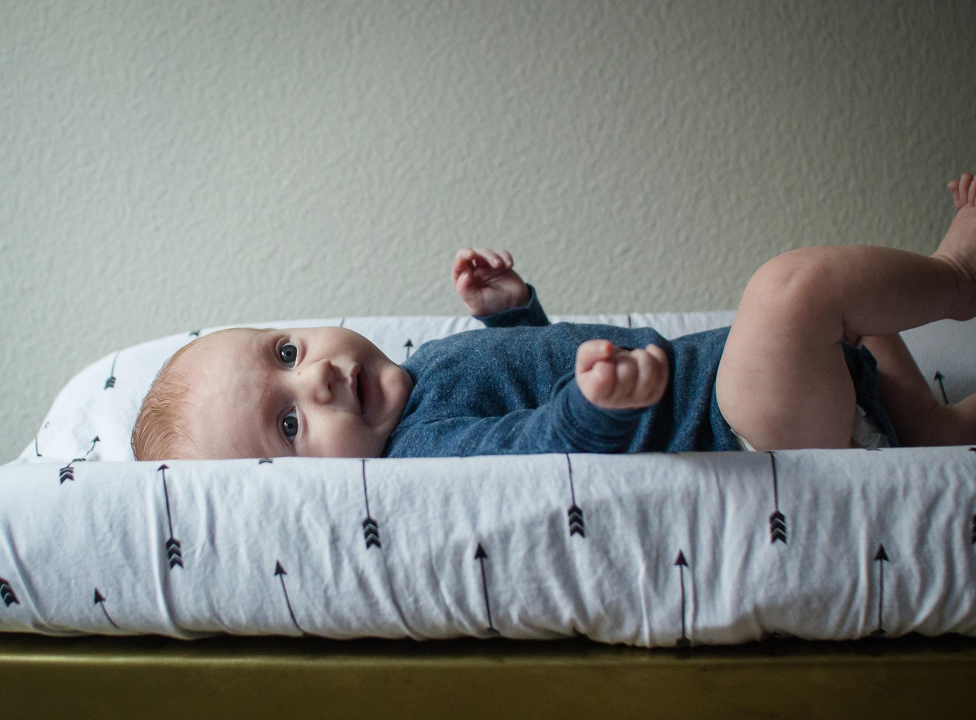 Baby-Blähungen